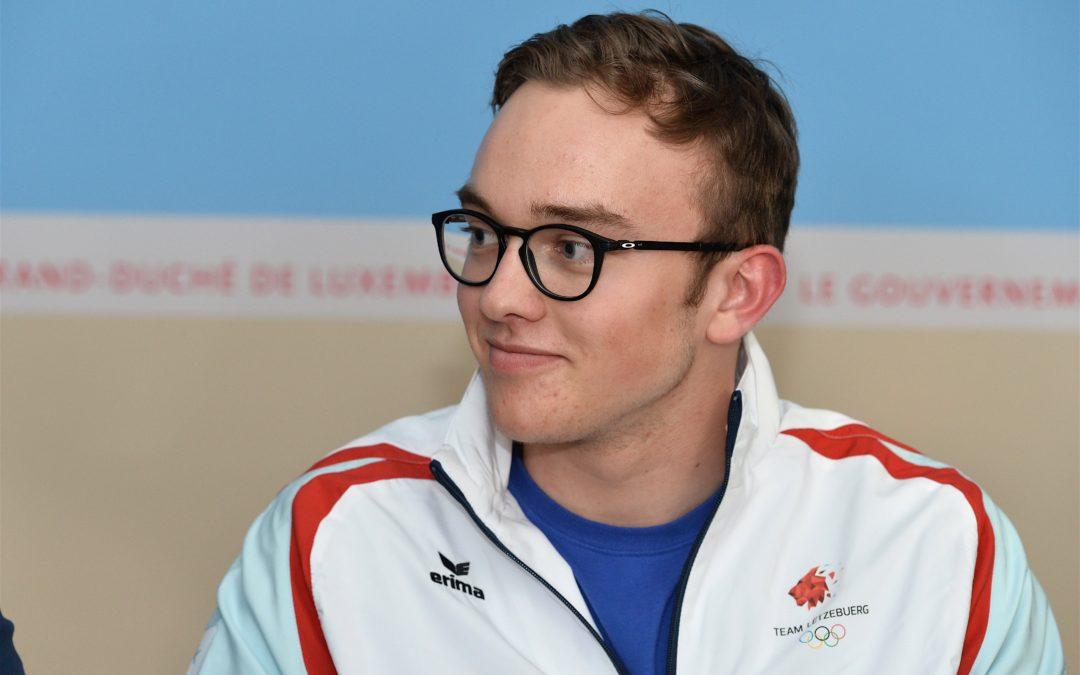 Interview de Matthieu Osch et de son père avant les Jeux Olympiques