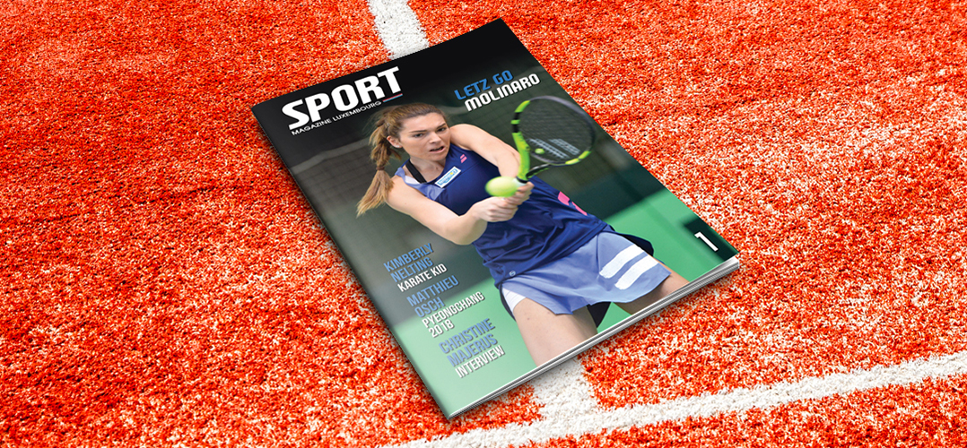 Sport Magazine Luxembourg n°1 disponible