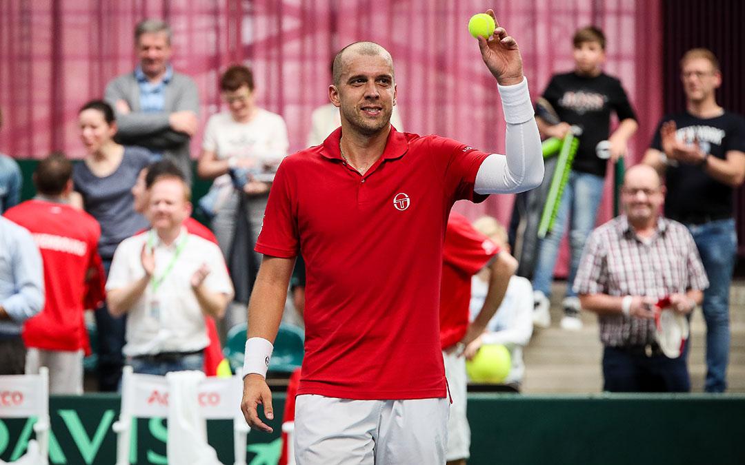 Le meilleur tennisman luxembourgeois de tous les temps arrête sa carrière