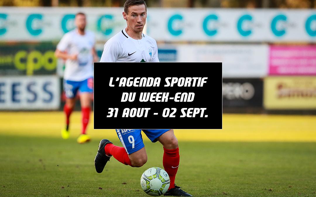 Agenda du week-end (31 août – 02 septembre)