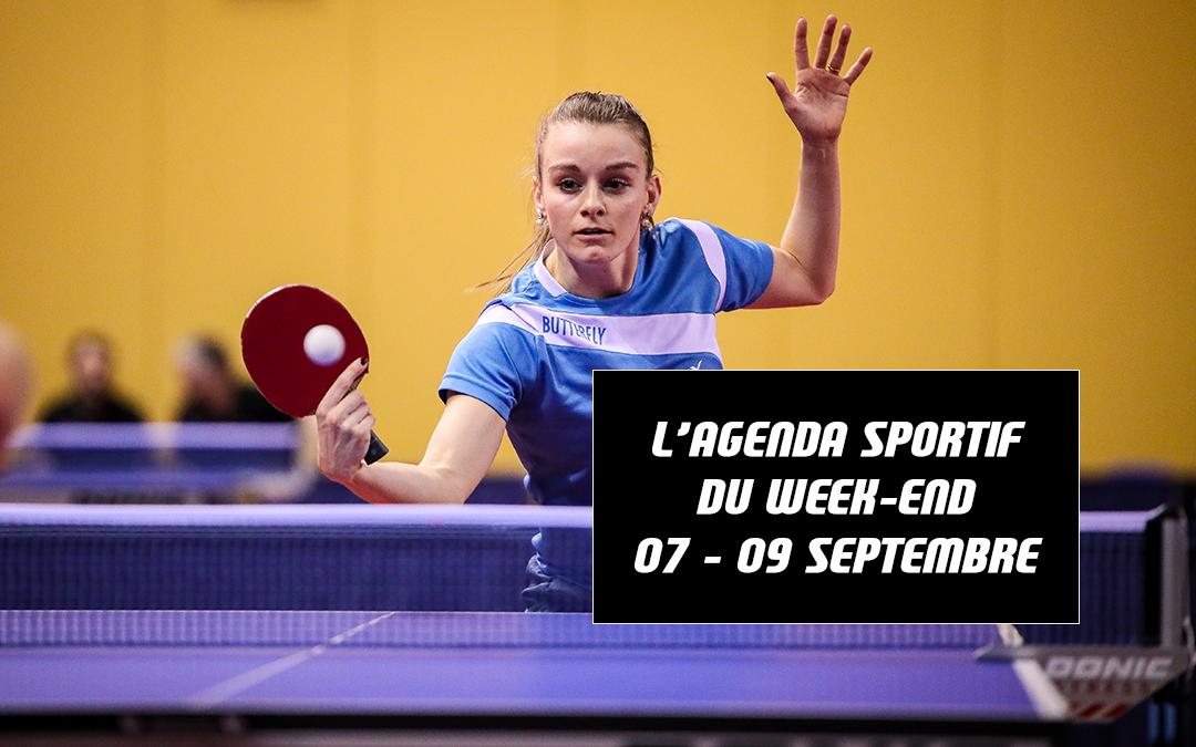 Agenda du week-end (07 – 09 septembre)