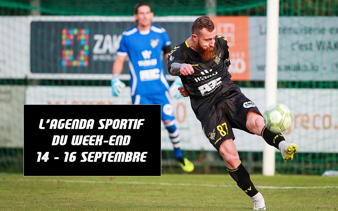 Agenda du week-end (14 – 16 septembre)