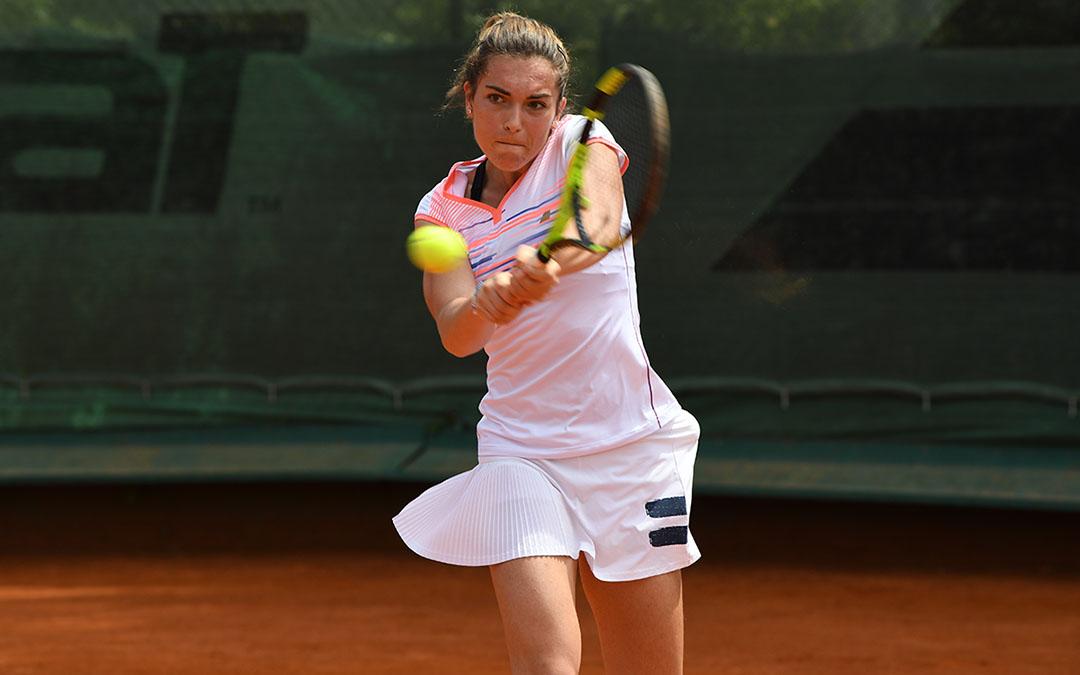 Eléonora Molinaro se qualifie pour les quarts de finale du tournoi de Brno