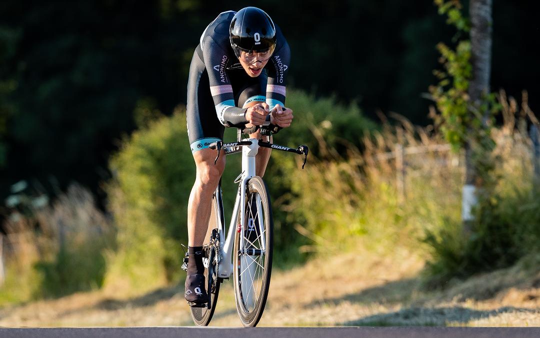 Pit Leyder aux Mondiaux de cyclisme à Innsbruck