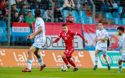 Les Roude Léiwen battent Saint-Marin et reprennent la tête de leur groupe en Nations League