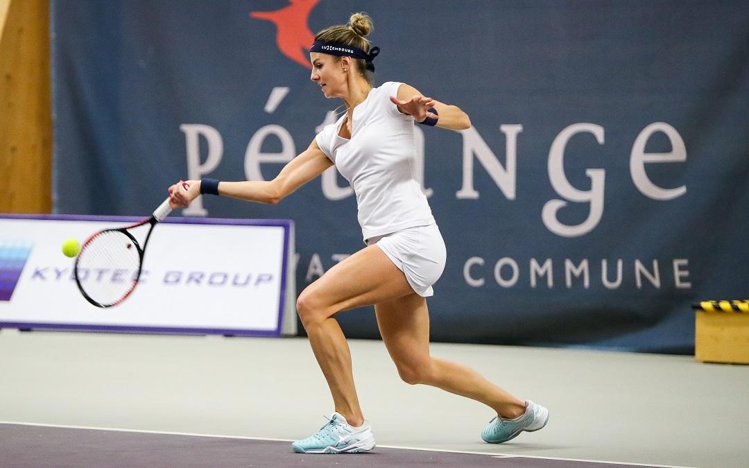 Mandy Minella se qualifie pour les 1/2 finales du Kyotec Open à Pétange