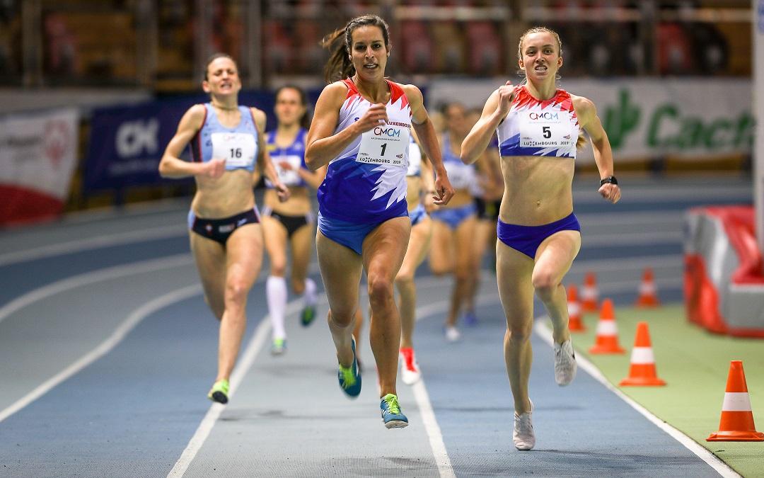 Euro indoor d'athlétisme : le Luxembourg en force
