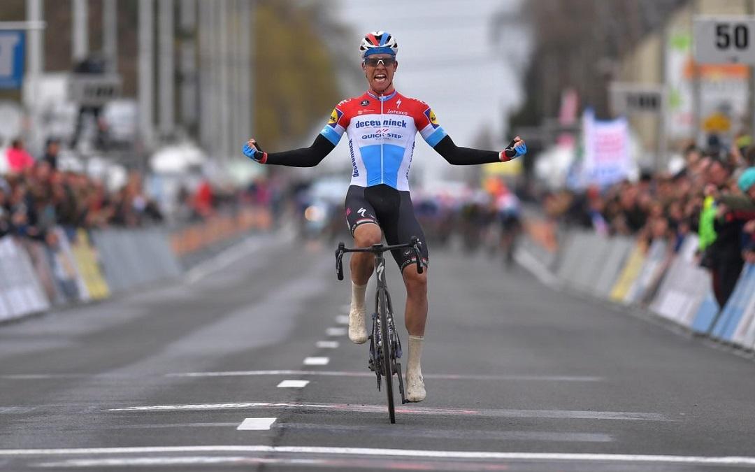Bob Jungels remporte Kuurne-Bruxelles-Kuurne !