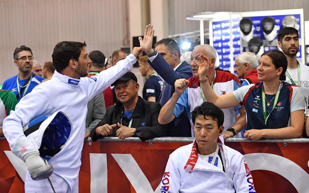 Carton plein pour Flavio Giannotte et Lis Rottler-Fautsch aux championnats du monde !